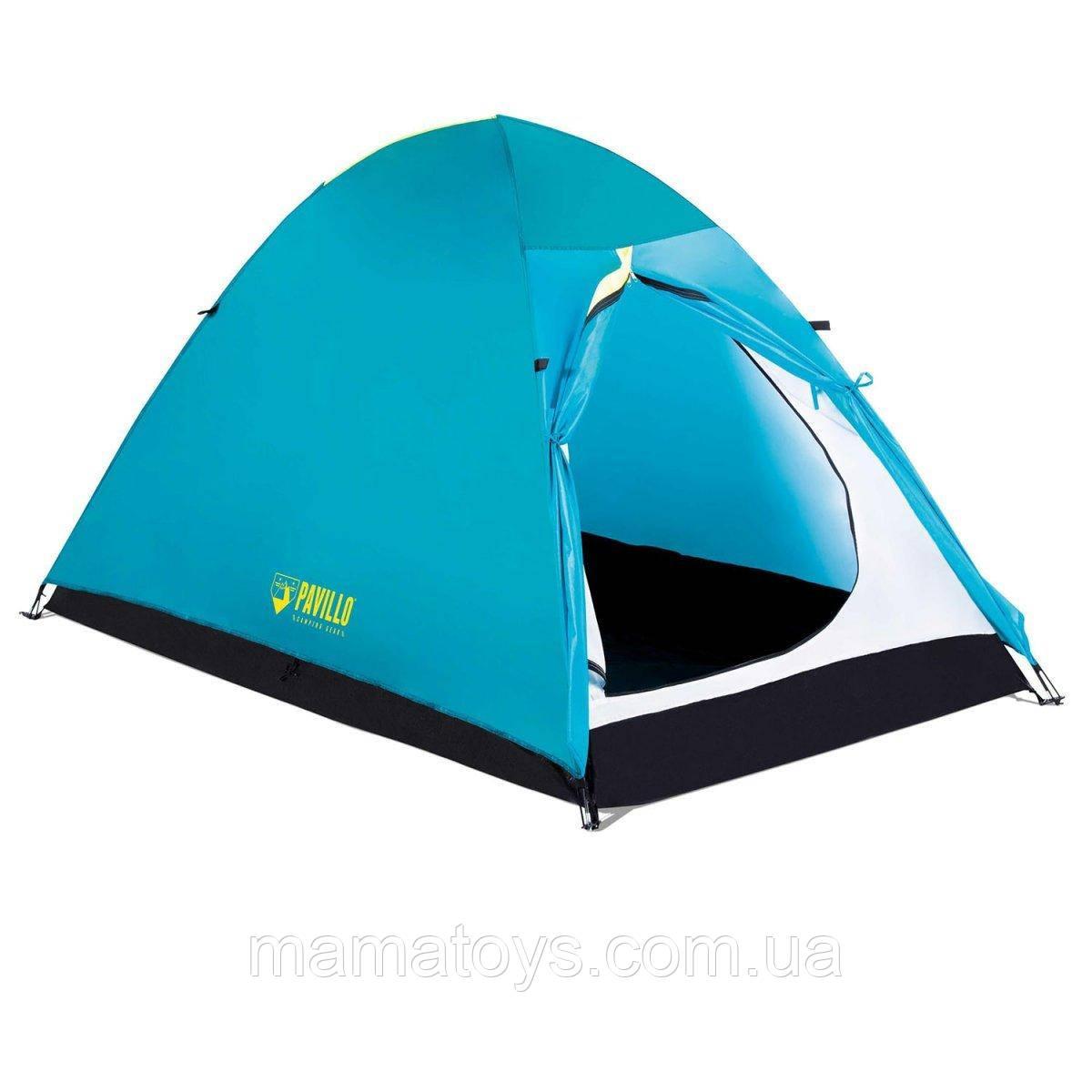 Палатка Туристическая Двухместная Pavillo BW 68089 Active Base 2 Размеры200 х 120 х 105 см Бествей BestWay