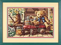 Набір для вишивки хрестом Dimensions 13693 «Медовий ведмедик»
