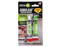 Клей эпоксидный для пластика и мягких материалов Nowax Super Bond Epoxy Adhesive 20 г