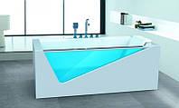 Гидромассажная ванна Dusrux LG1700 (правосторонняя), 1700х800х600 мм