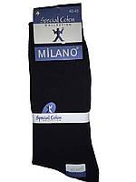Носки мужские без шва Milano(Милано)  черные, фото 1