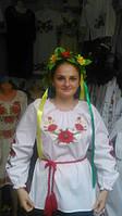 """Наша украиночка в рубашке-вышиванке """"Веночек"""" от МальваОпт!"""