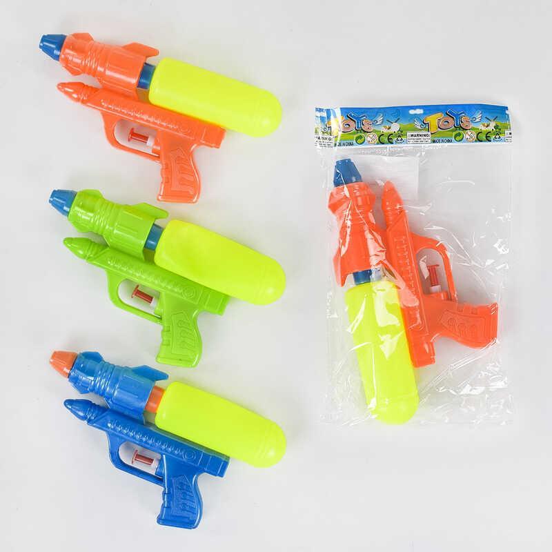 Водный пистолет 018 (600/2) 3 цвета, в кульке