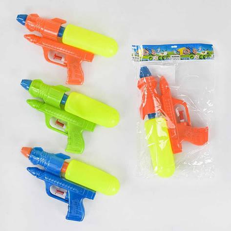 Водный пистолет 018 (600/2) 3 цвета, в кульке, фото 2