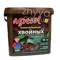 Добриво осіннє для хвойних та декор. дерев та кущів Argecol 5 кг / Удобрение осеннее для хвойных Агрекол