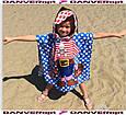 Полотенца - пончо детское MINNI MOUS пляжное 75*140 cm  Турция, купить оптом склад 7 км Одесса, фото 2