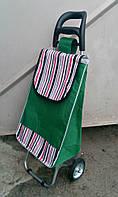 Хозяйственная сумка тележка Xiamen с железными колесами Shoping dark strawberry (0096), фото 1