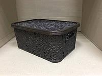 Контейнер с крышкой для хранения мелочей АЖУР ELIF 6 л