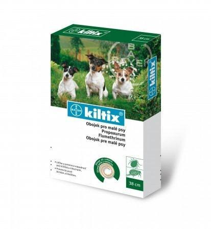Килтикс (KILTIX) - ошейник от блох и клещей для собак, 38 см