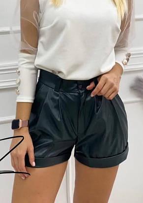 Женские эффектные шорты с карманами  (2 цвета), фото 2