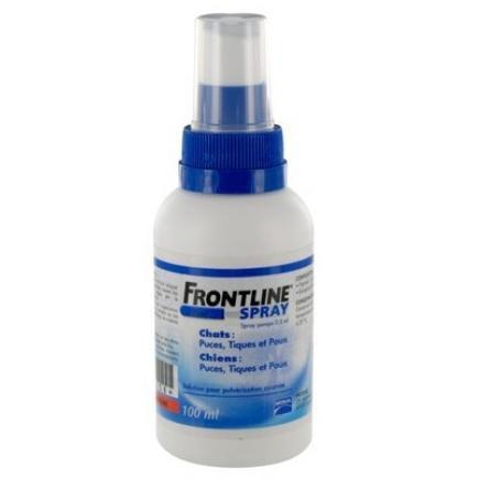 Фронтлайн (Frontline)  спрей для собак от блох и клещей 100мл