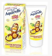 """Зубная паста для детей Aquarelle (50мл.)  """"Тутти-Фрутти"""""""