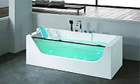 Гидромассажная пристенная ванна Dusrux LG1780, 1700х800х600 мм