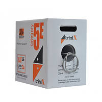 Кабель витая пара Trinix UTP Cat5E 4PR CU 0,50 мм PVC Indoor305 м