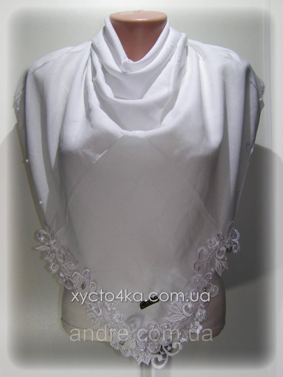 Платки на натуральной основе Жемчужина, белый