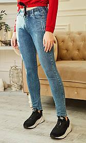 Клевые молодежные джинсы на резинке
