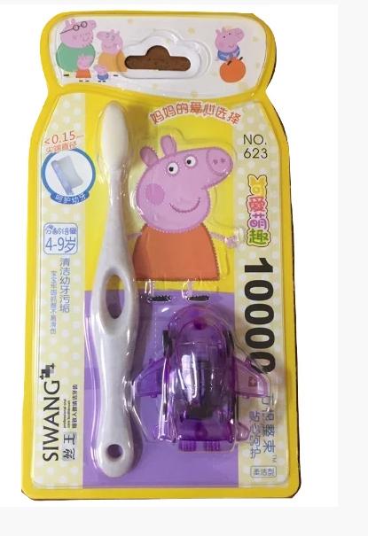 """Зубная щетка детская """"Свинюшка"""" (623)"""