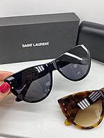Крутые солнцезащитные очки Saint Lourant LUX (реплика), фото 1