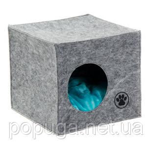 Дом-лежак «Грей» для кошек, 39*39*36 см