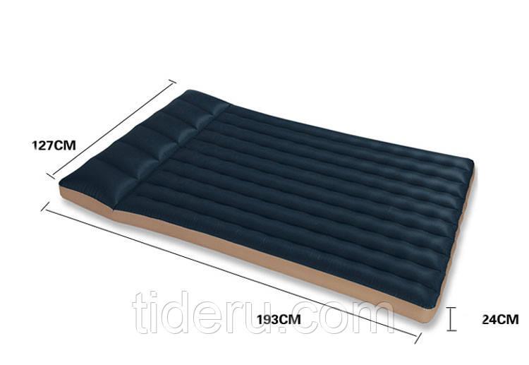 Матрас надувной ламинированный intex 68799 двухместный