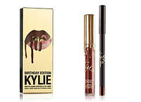 Губная матовая помада Kylie Birthday Edition Lip Kit (Кайли Брайти Едишен Лип Кит)
