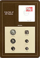 Набор монет Арубы