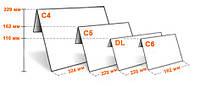 Конверт C6 самоклеющийся