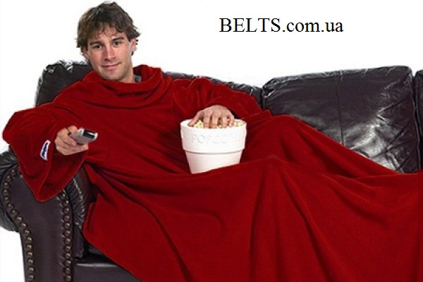 Подарок на Новый год - плед с рукавами Снагги