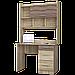 Стіл письмовий Школяр 4 з надбудовою Еверест, фото 3