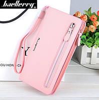 Женский  клатч портмоне  Baellerry Italia (Розовый)