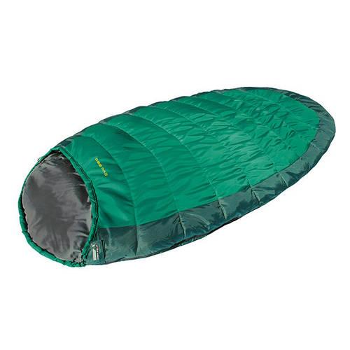 Спальный мешок High Peak OVO 220  +4°C (Right) 921754 зеленый