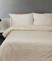 Комплект постельного белья страйп- сатин