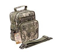 Тактическая военная сумка Hinterhölt Jab (Хинтерхёльт Джеб) плечевая на ремне Камуфляж Пиксель (SUN90092)