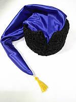 Гетьманска шапка з синім шликом