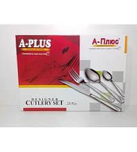 Набор столовых приборов 24 предмета A-Plus AP-1414