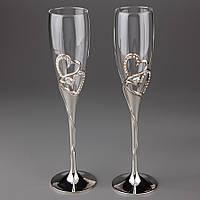 Свадебные бокалы Veronese 26 см 2 шт  002G