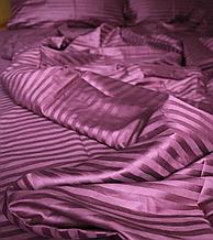 Комплект постельного белья евро размер страйп сатин