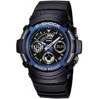 Водонепроницаемые наручные часы Casio G-Shock AW-591-2AER с полимерным ремешком