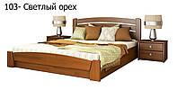 Кровать Селена Аури с подъемный механизмом (Эстелла) 160х190, 103 Орех Светлый, Бук Щит