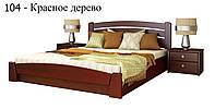 Кровать Селена Аури с подъемный механизмом (Эстелла) Бук Щит, 160х200, 104 Красное Дерево