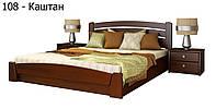 Кровать Селена Аури с подъемный механизмом (Эстелла) Бук Щит, 160х200, 108 Каштан
