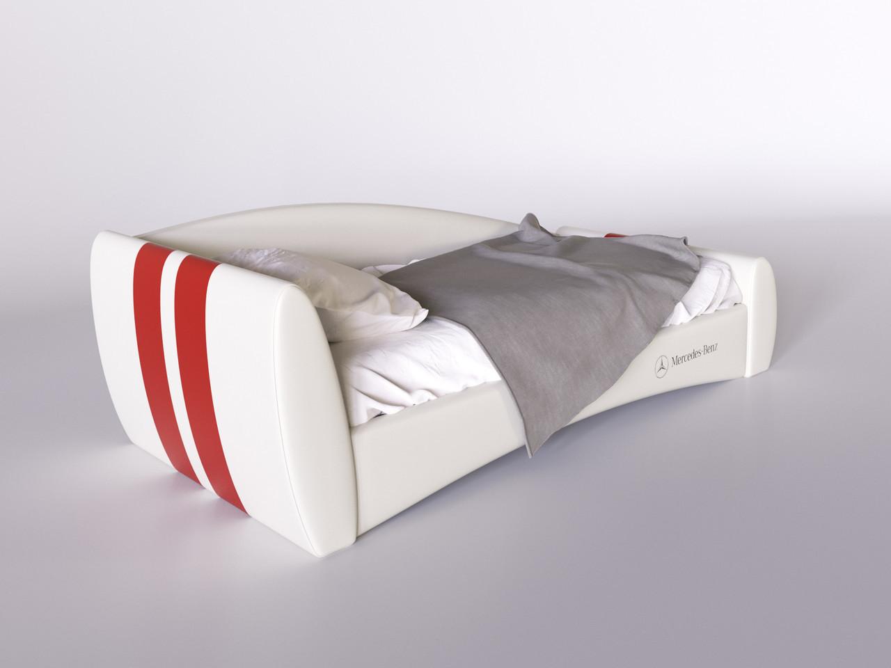 Детская кровать Формула Mercedes - Benz 80*190 с подъемным механизмом