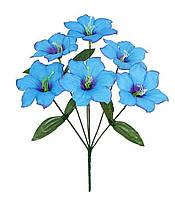 Букет искусственных цветов Колокольчик цветной , 35 см