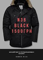 Удлиненная аляска US N3B TEESAR black by Miltec
