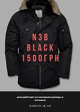 Подовжена аляска US N3B TEESAR black by Miltec