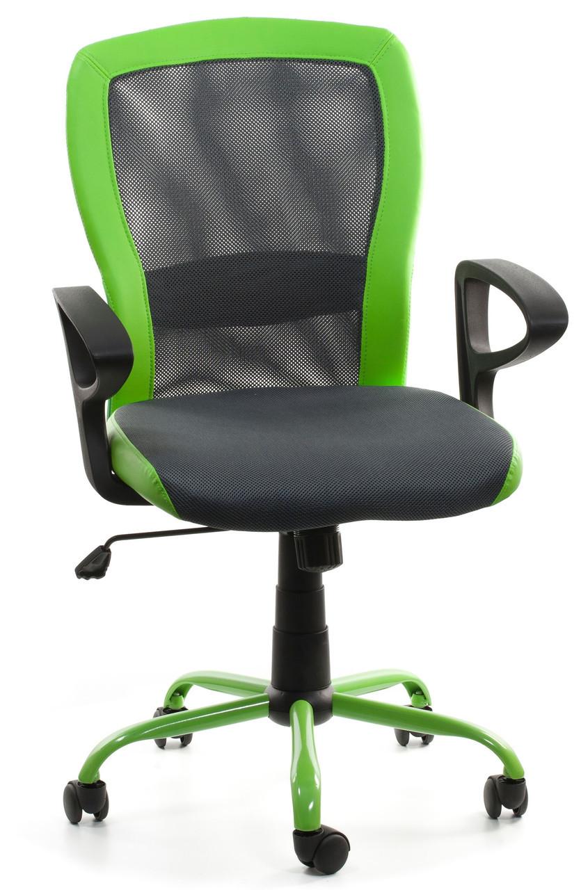 Крісло офісне LENO, Grey-Green Special4You