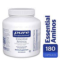 Незаменимые аминокислоты, Essential Aminos, Pure Encapsulations, 180 капсул