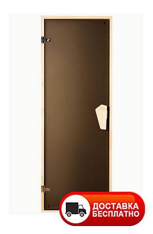 Дверь для сауны Sateen Tesli 2000*700 матовая, фото 2