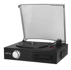 Проигрыватель виниловых дисков с кассетным проигрывателем Camry CR 1154