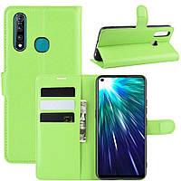 Чохол-книжка Litchie Wallet для Vivo Z5X / Z1 Pro Green